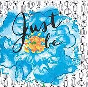 Just Be - Flowers Embroidery Kit