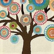 Handmade Collection Tree - Crewel Embroidery Kit