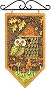 Debbie Mumm Fall Banner - Cross Stitch Kit