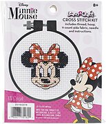 Minnie Mouse Learn-A-Craft - Counted Cross Stitch Kit