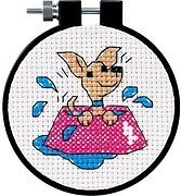 Perky Puppy Learn-A-Craft - Beginner Cross Stitch Kit