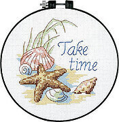 Take Time Learn-A-Craft - Beginner Cross Stitch Kit