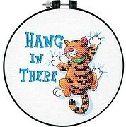 Hang In There Learn-A-Craft Beginner Stamped Kit