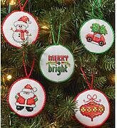 Christmas Minis Christmas Ornaments - Cross Stitch Kit