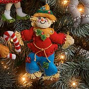 Christmas In Oz Christmas Ornaments - Felt Applique Kit