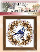Bird For all Seasons - Autumn Blue Jay