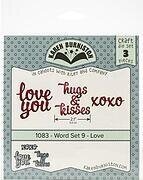 Love Word Set 9 - Karen Burniston Craft Die