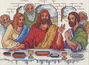 The Last Supper - Christian Cross Stitch Pattern