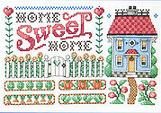 Home Sweet Home Sampler - Cross Stitch Pattern
