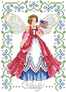 Birthday Faeries July - Cross Stitch Pattern