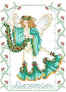 Birthday Faeries December - Cross Stitch Pattern