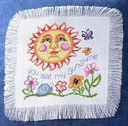 You Are My Sunshine - Cross Stitch Pattern