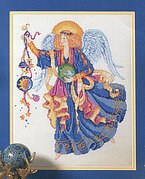 Celestial Angel - Cross Stitch Pattern