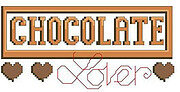 Chocolate Lover - Cross Stitch Pattern