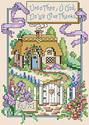 Psalm 75:1 - Christian Cross Stitch Pattern