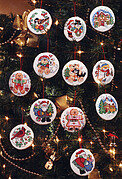 Holiday Favorites Christmas Ornaments - Cross Stitch Pattern