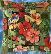 Nasturtiums - Cross Stitch Pattern
