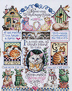 No Ordinary Cats - Cross Stitch Pattern