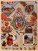 Autumn Sampler - Cross Stitch Pattern