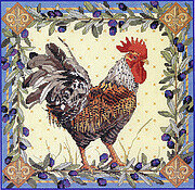 Rooster - Cross Stitch Pattern