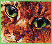 Cat's Eyes - Cross Stitch Pattern