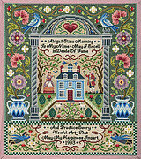 The American Antique Sampler- Cross Stitch Pattern