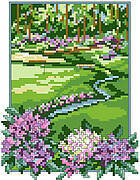 Golf Course - Cross Stitch Pattern