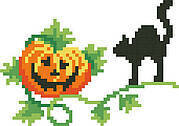 Pumpkin Patch - Big Stitch Pattern