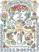 Our Wedding Sampler - Cross Stitch Pattern