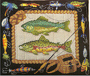 Catch of the Day - Cross Stitch Pattern