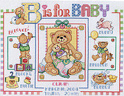 B is for Baby Sampler - Cross Stitch Pattern