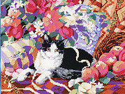Cat On A Sofa - Cross Stitch Pattern