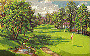 Fairway to Heaven - Cross Stitch Pattern