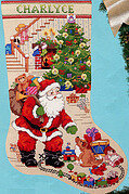 The Best of Christmas Stocking - Cross Stitch Pattern