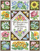 Nature's Wisdom Sampler - Cross Stitch Pattern