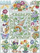 Spring Fever Sampler - Cross Stitch Pattern