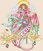 Angel of Romance - Cross Stitch Pattern