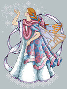 Frost Faerie - Cross Stitch Pattern