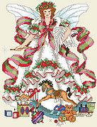 Christmas Faerie - Cross Stitch Pattern