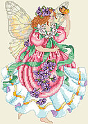 Flower Faerie - Cross Stitch Pattern