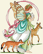 Forest Faerie - Cross Stitch Pattern