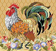 King of the Roost - Cross Stitch Pattern