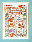 Meadow Treasures - Cross Stitch Pattern