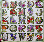 ABC Floral - Cross Stitch Pattern
