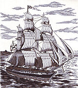 On the Broad Seas - Cross Stitch Kit