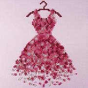 Red Dress - Leisure Arts Diamond Art Kit