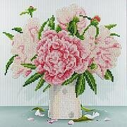 English Roses - Leisure Arts Diamond Art Kit