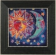 Sun & Moon - Cross Stitch Kit