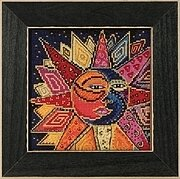 Sun & Moon Dance - Cross Stitch Kit