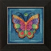 Butterfly Capri - Laurel Burch - Cross Stitch Kit